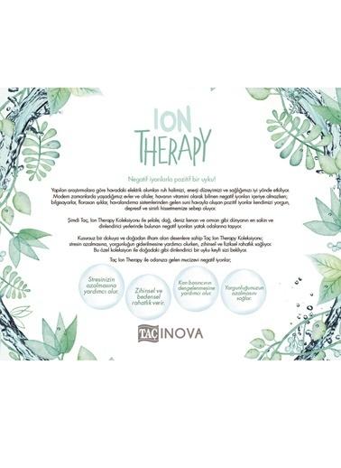 Taç Çift Kişilik Ion Therapy Nevresim Takımı Mavi